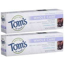 Toms of Maine Whole Care Fluoride Toothpaste, Cinnamon Clove, 4.7 Ounce, 2 Count