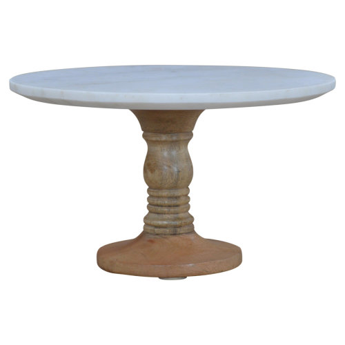 Cake Stand With Marble Top