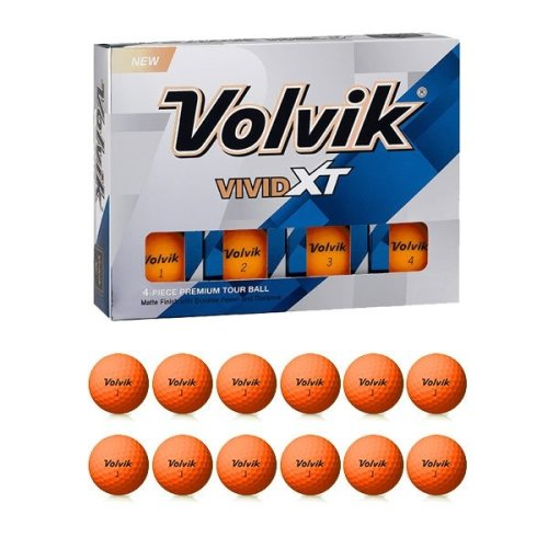 Volvik Vivid XT Extreme Distance Long Drive Coloured Golf Balls