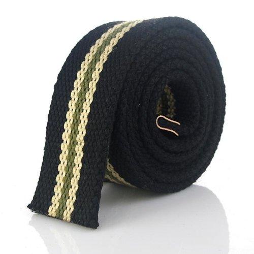 Hot Tactical Canvas Belt Body Men Women Thicken 4MM Military Width 3.8CM Designers High quality 110-140 cm No Buckle