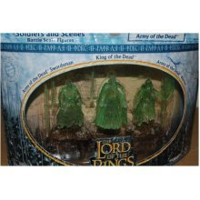 The Lord of the Rings Armies of Middle Earth Soldiers and Scenes Battle Scale Figures