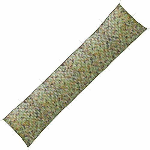 vidaXL Camouflage Netting with Storage Bag 1.5x10m Hunting Shooting Cover