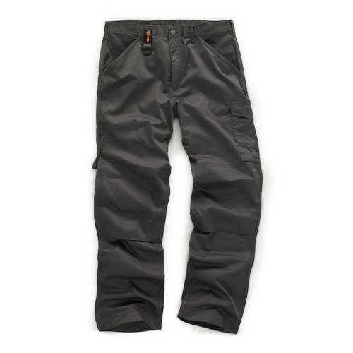 Scruffs Worker Trousers Graphite Grey Men's
