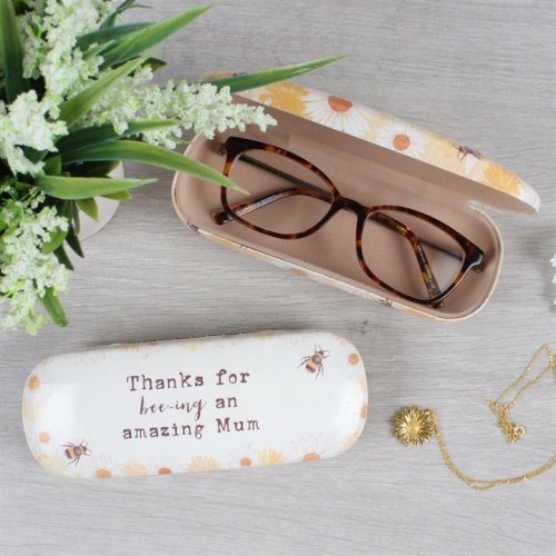 Mum Glasses Case - Thanks For Bee-ing An Amazing Mum