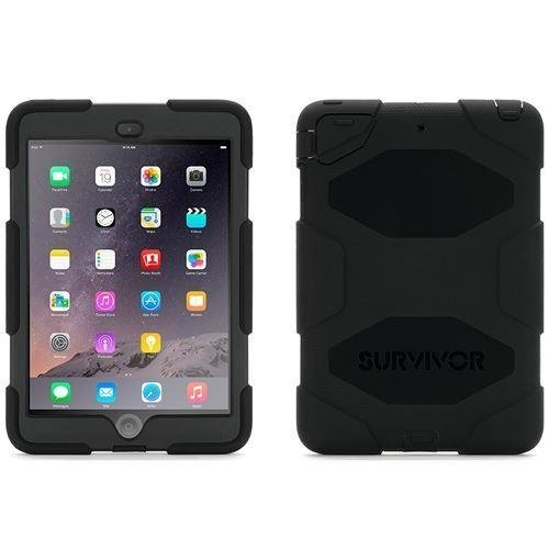 Griffin Survivor Military Duty Case - Black For Ipad Mini 1/2 (GB35918-3)