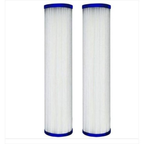 Protect Plus WFPFC3002 DuPont Pleated Poly Whole House Cartridge - 2 Pack