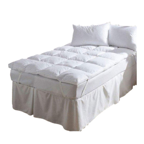 Bedding Heaven New White Duck Feather King Size Mattress Topper