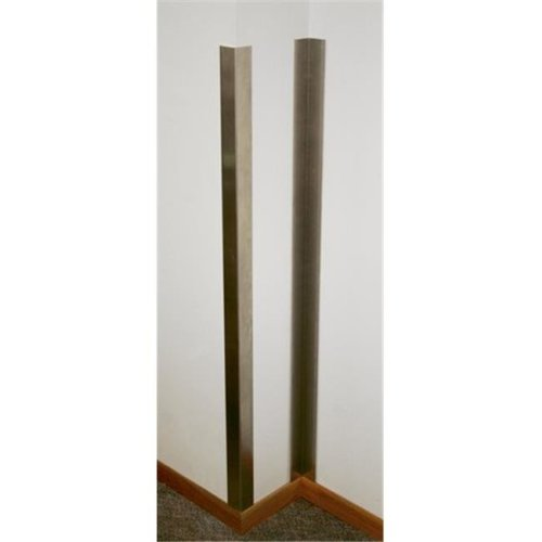 Prairie View CPIS2236SS Inside Stainless Steel Corner Guards, 36 x 2 x 2 in.