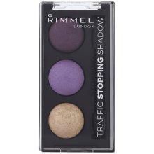 Rimmel Glam Eyes Traffic Stopping Trio Eyeshadow (No Parking 004) 2.4g