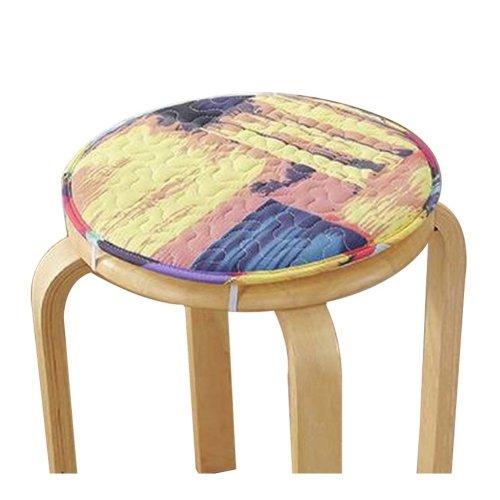 [F] Soft Round Stool Cover Bar Stool Seat Pad