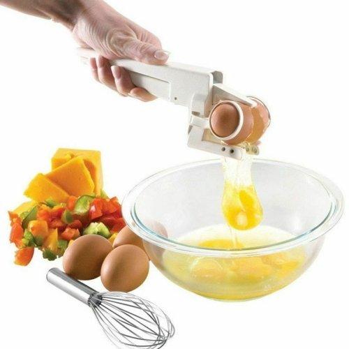 Egg Topper Cracker Opener Separator Divider Shell Top Cutter Knocker