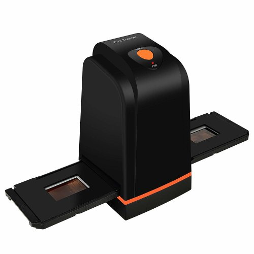 High Resolution 35mm Film Scanner converts Negative Slide & Film to Digital Photo, Supports Windows XP/Vista/ 7/8/10/MAC