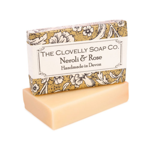 Clovelly Soap Co Handmade Neroli & Rose Natural all Skin Types 100g