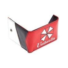 Capcom Resident Evil Umbrella Corporation Bi-Fold Wallet - Red (MW230121RES)