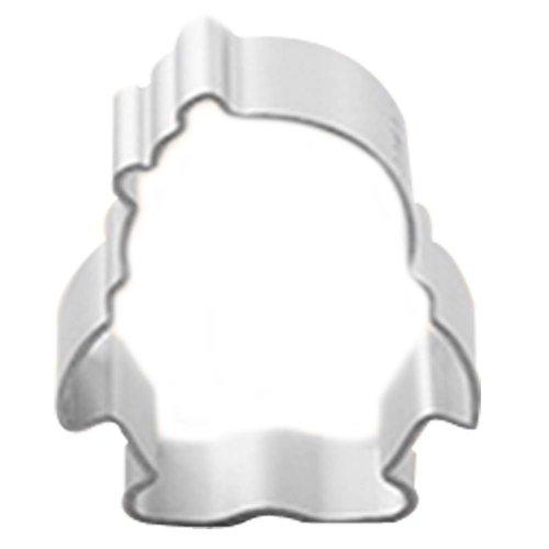 3 Pcs Aluminum Penguin Shape DIY Baking Mold Cookies Cut