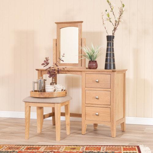 Malvern Shaker Oak Dressing Table