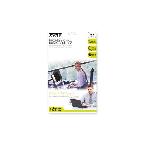 "Port Designs 900221 Frameless display privacy filter 56.1 cm (22.1"")"