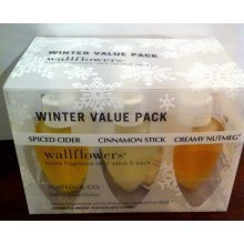 BATH & BODY WORKS SLATKIN & CO. WALLFLOWERS WINTER VALUE 6 PACK NIB