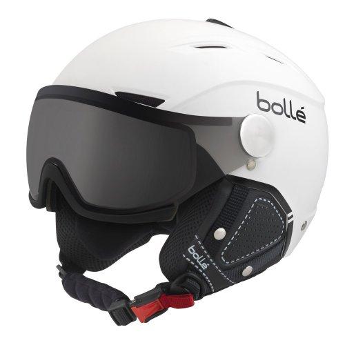 Bolle Backline Visor Premium Ski Helmet - White XSS