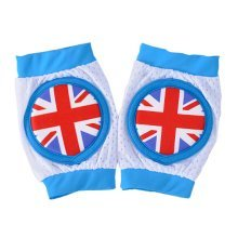 Creative English Flag Baby Crawling Protector Knee Pad