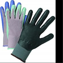 West Chester 37130 Gray Nitrile Coated Knit Glove Large