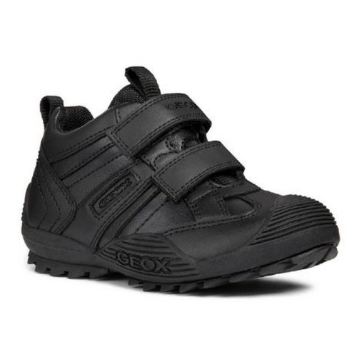 Geox Boys J Savage G Touch Fastening Leather Shoe