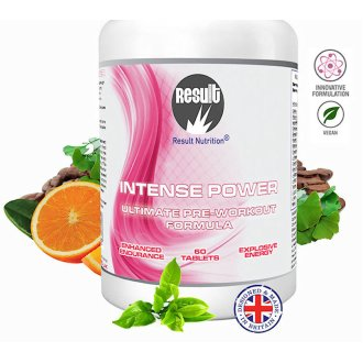 Pre Workout - Intense Power - Supercharge Training - Result Nutrition®