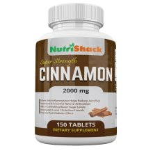 CEYLON Cinnamon 2000mg 150 Tablets - High Potency - Blood Sugar Control