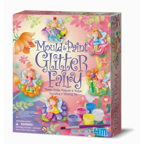 Glitter Fairy Mould & Paint Kit