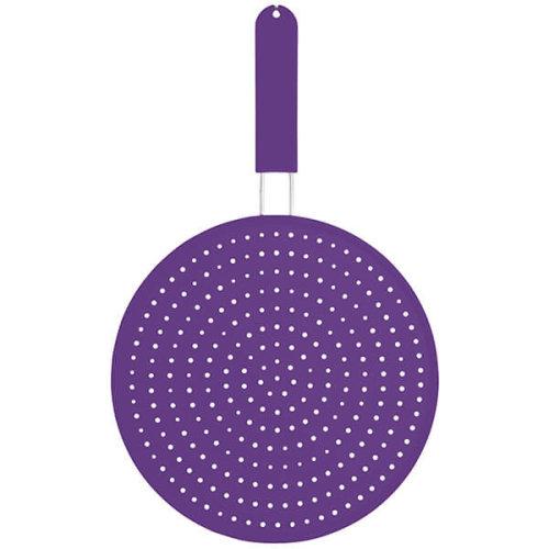 Colourworks Purple Silicone 28cm Splatter Screen