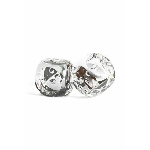 Crystal 2 Pieces Dice Object Vakko