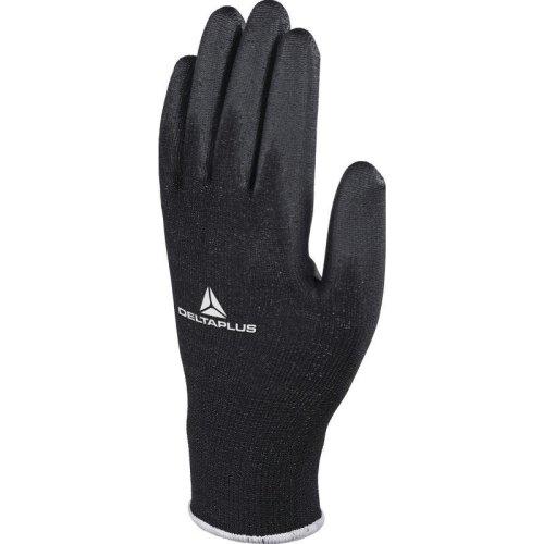 Delta Plus VE702PN High-Tech PU Safety Gloves Black (Various Sizes)