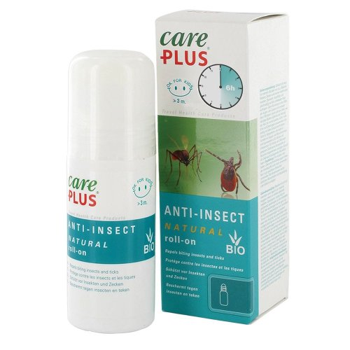 Care Plus 32621 30% Citriodiol Natural Anti Insect & Mosquito Repellent Roll On 50ml