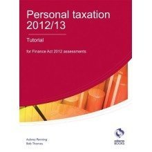 Personal Taxation 2012/13 Tutorial (aat Accounting - Level 4 Diploma in Accounting)
