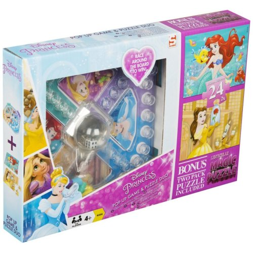 Disney Princess Pop Up Game & Puzzle Set