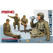 Mnghs-002 - Meng Model 1:35 - Idf Tank Crew