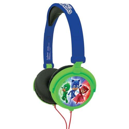 Lexibook HP015PJM PJ Masks Foldable Stereo Kid's Headphone with Volume Limiter