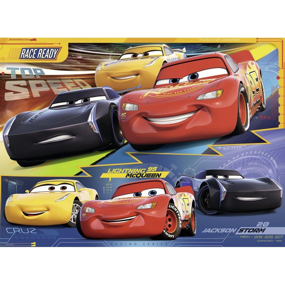 5dd2060f78b ... Ravensburger Disney Pixar Cars 3, XXL 100pc Jigsaw Puzzle - 2. >