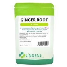 Linden Ginger Root 90 Tablets 500mg Quality Natural Supplement 4mg Gingerols