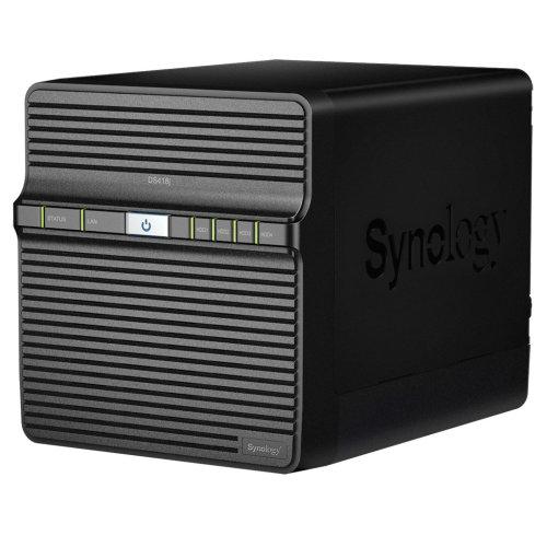 Synology DS418J 32TB 4 x 8TB WD RED 4 Bay Desktop NAS Unit DS418J/32TB-RED