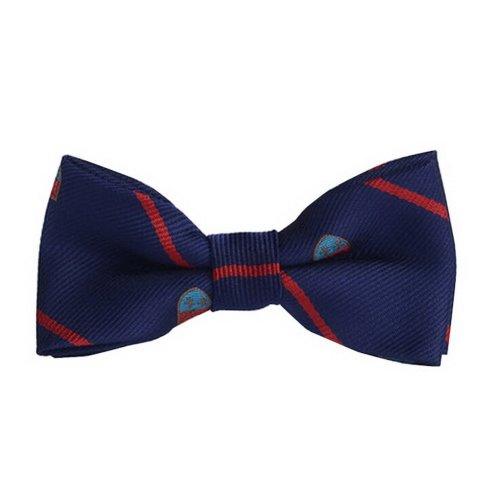 Fashion Designed Adjustable Neck Bowtie Boys Bow Tie [Dark Blue, B]