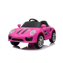 (Pink) 12V Porsche 911 Turbo S Kids' Ride-On | Electric Ride-On Porsche