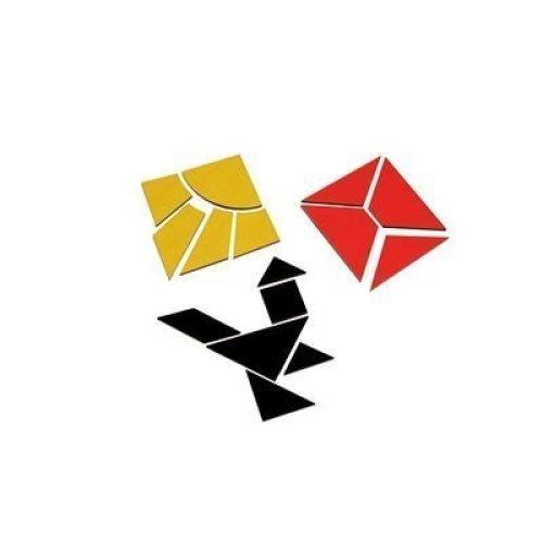 Logo Lern-Spiel-Verlag Quadrate (N3) Nikitin-Material Förderung Wahrnehmung