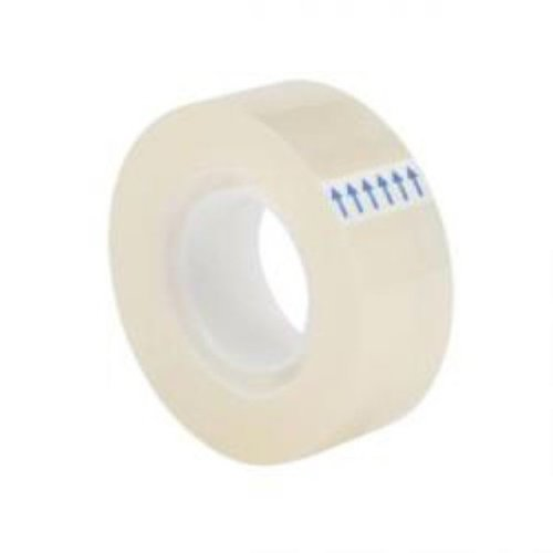 8 x Rolls Sellotape Clear Sticky Tape 19mm x 33m SMALL CORE