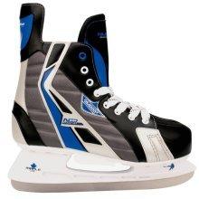 Nijdam Ice Hockey Skates Size 42 Polyester 3386-ZBZ-42