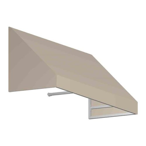 Awntech CN33-US-5L 5.38 ft. New Yorker Window & Entry Awning, Linen - 44 x 36 in.