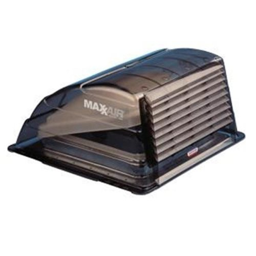 MAXXAIR VENT 933067 Roof Vent Cover With Smoke Polyethylene