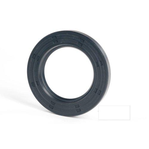 6x12x2mm Oil Seal Nitrile R21 Single Lip Springless 20 Pack