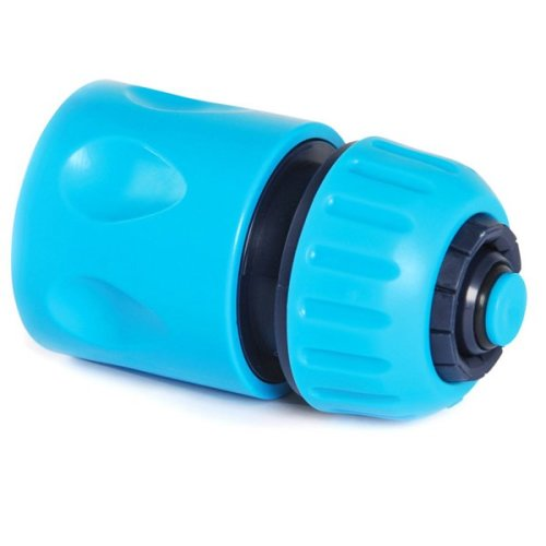 """Quick Fit 1/2"""" Female Water Stop Connector for Garden Hoses"""