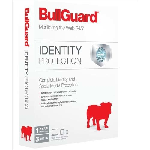 Bullguard Identity Protection - 3 User 1 Year Retail
